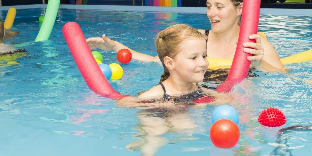 Kinderschwimmen bis 5 Jahre (1 Erwachsener + 1 Kind)